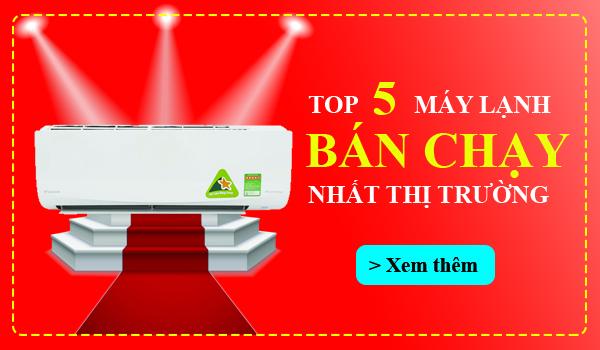Top 5 máy lạnh bán chạy Điện máy Đông SaPa