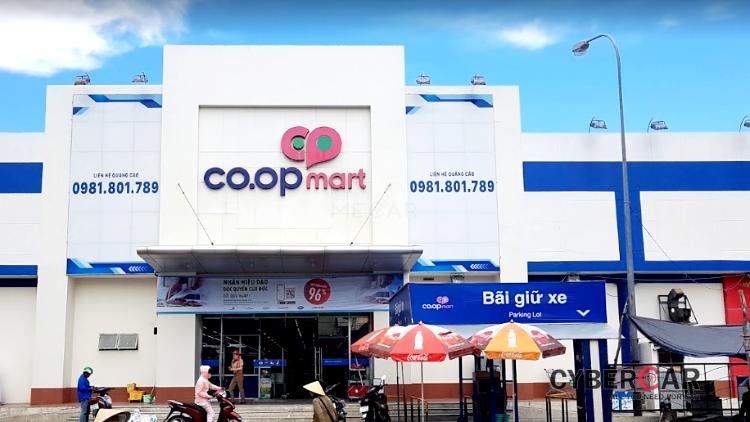 siêu thị coopmart Tuy Hòa
