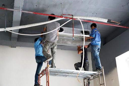 lắp đặt hệ thống điều hòa không khí và thông gió WYNN'S