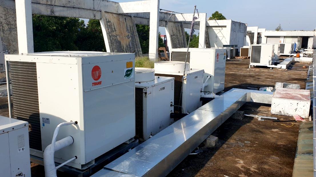 Cải tạo, sửa chữa hệ thống quạt điều hòa không khí