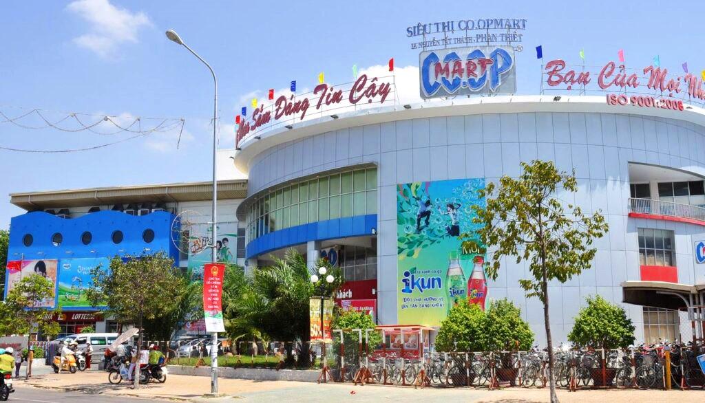 cải tạo, sửa chữa hệ thống điều hòa cho Siêu thị Coopmart Phan Thiết.