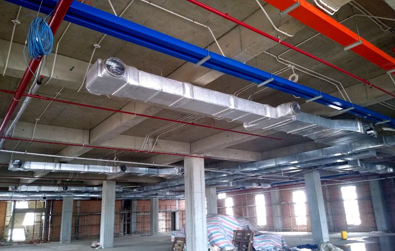 Lắp đặt hệ thống điều hòa không khí và thông gió TTC Đức Trọng
